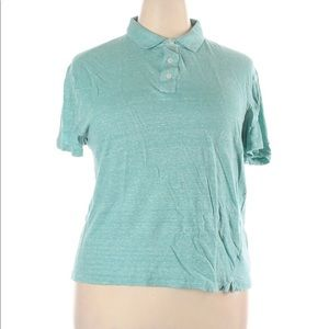 GUC Michael Kors Green Polo Top XXL